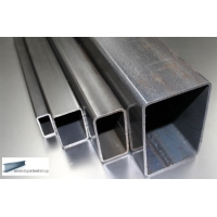 Rectangular Mild Steel Box Section 100mm x 50mm x 5mm